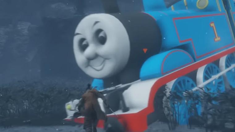Sekiro: Shadows Die Twice | Mod substitui a serpente gigante por Thomas, o Trem
