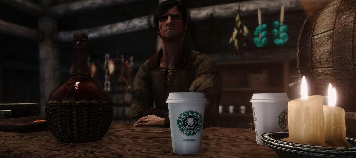 Skyrim | Mod adiciona copo de café de Game of Thrones ao jogo
