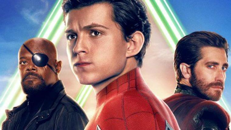 Homem-Aranha: Longe de Casa ganha cartaz com vários personagens do filme