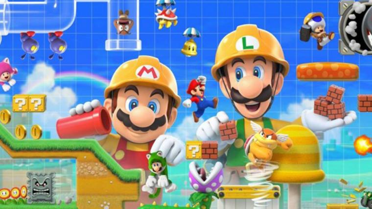 Super Mario Maker 2 terá multiplayer online e modo história