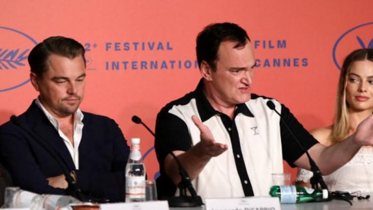 Em Cannes, Tarantino se irrita com perguntas na coletiva de Era Uma Vez em Hollywood