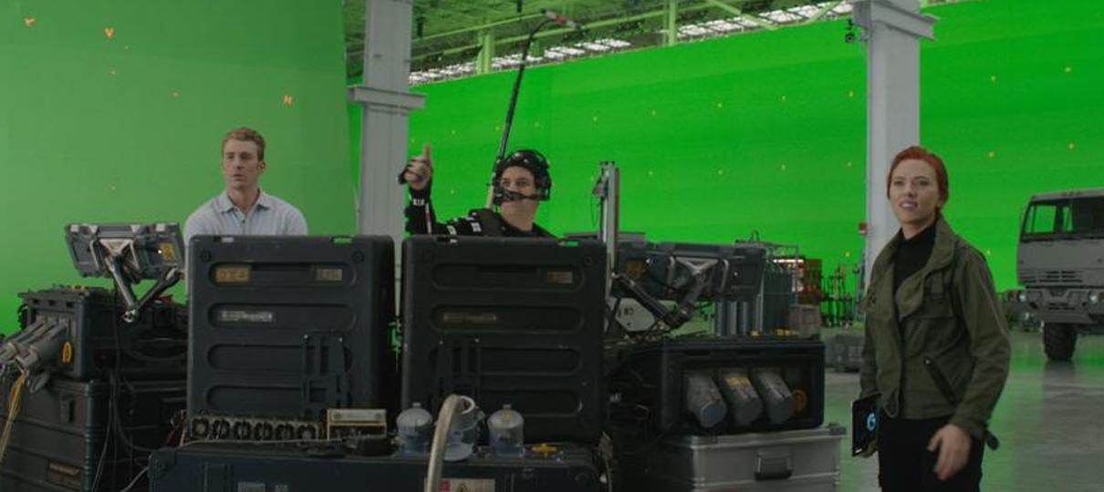 Vingadores: Ultimato | Fotos mostram antes e depois dos efeitos visuais do filme
