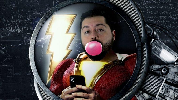 E se você levasse um raio como em Shazam?