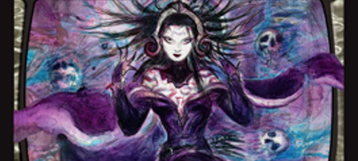 Yoshitaka Amano, artista de Final Fantasy, cria arte para carta de Magic: The Gathering