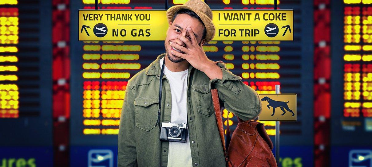 Perrengues de inglês em viagens