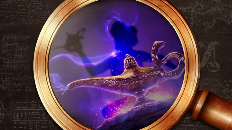 História e as origens de Aladdin