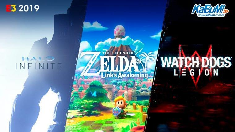 E3 2019 | Confira as novidades mais aguardadas da Microsoft, Nintendo e Ubisoft