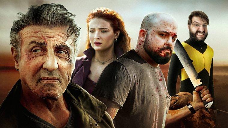 Trailer de Rambo V: Last Blood + Entrevista Fênix Negra