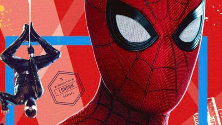 Homem-Aranha: Longe de Casa | Pôster IMAX mostra dois trajes do herói