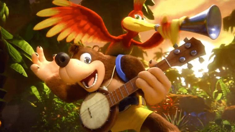 Banjo e Kazooie são anunciados para Super Smash Bros. Ultimate!