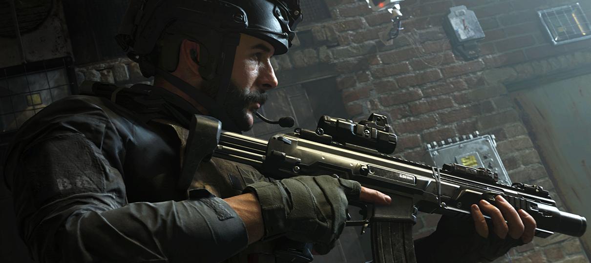 Call of Duty: Modern Warfare não terá modo zumbi