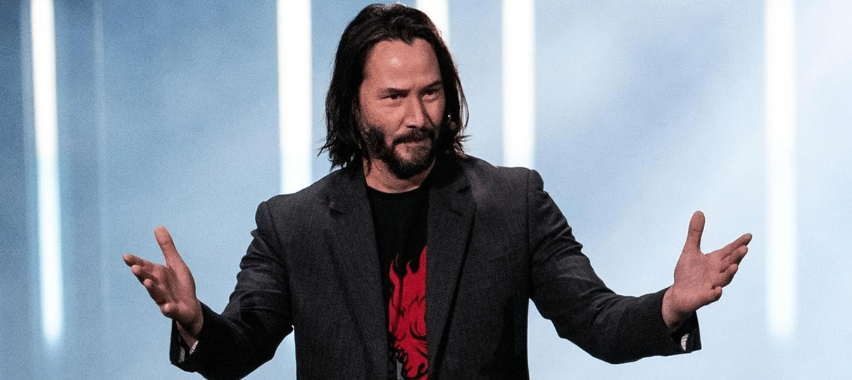 Como Keanu Reeves foi parar em Cyberpunk 2077