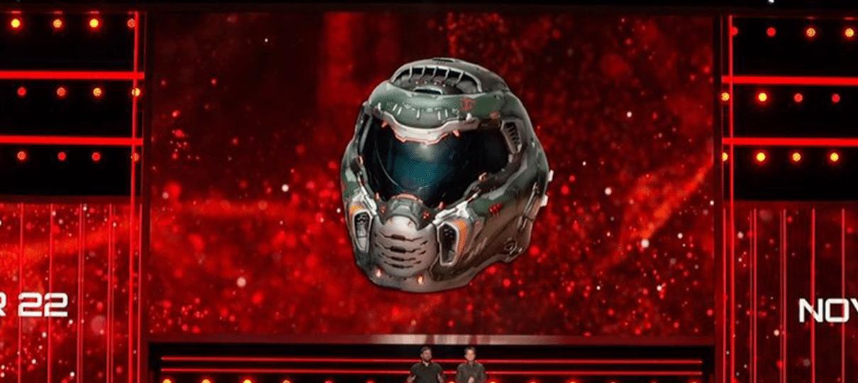 Doom Eternal | Edição de colecionador do jogo virá com capacete de Doom Slayer