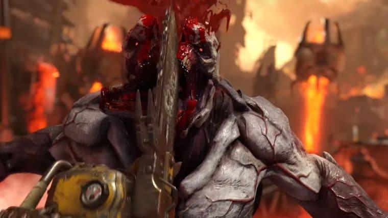 Doom Eternal ganha data de lançamento e novo trailer dublado