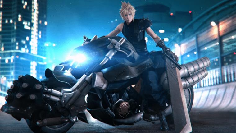 Final Fantasy VII Remake | Edição de colecionador vem com figure de Cloud na moto