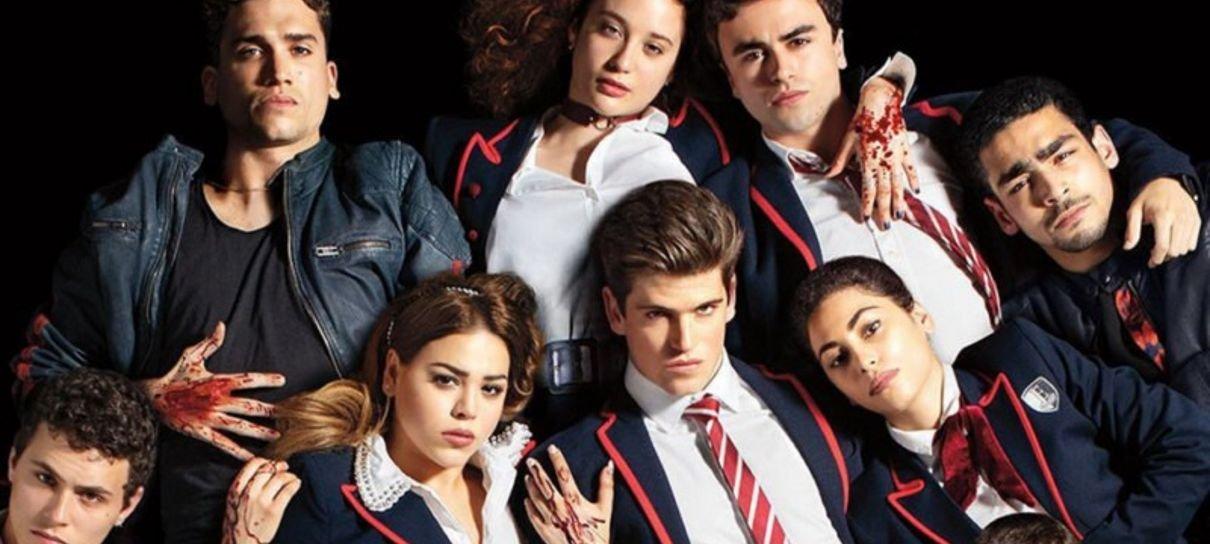 Elite | Elenco anuncia mês de retorno da série em vídeo divertido