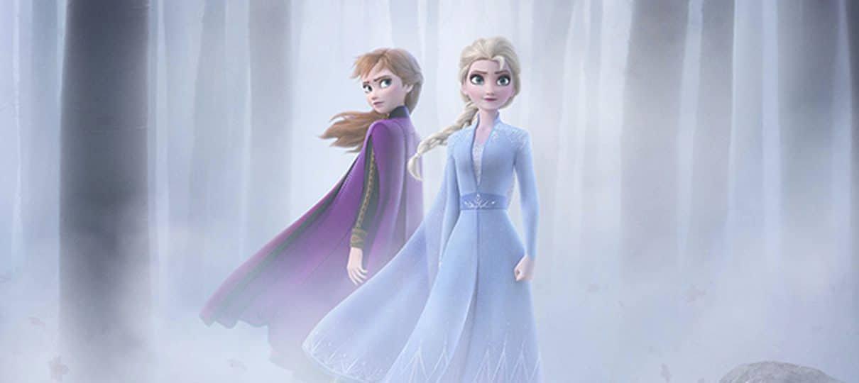 Frozen II ganha pôster; trailer será divulgado amanhã