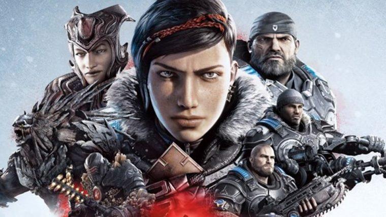 Gears 5 | Arte de capa do jogo é revelada