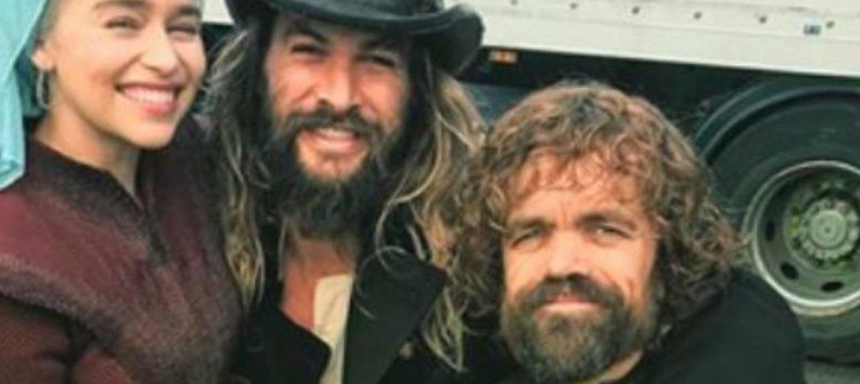 Irmãos Gêmeos | Jason Momoa gostaria de estrelar remake ao lado de Peter Dinklage
