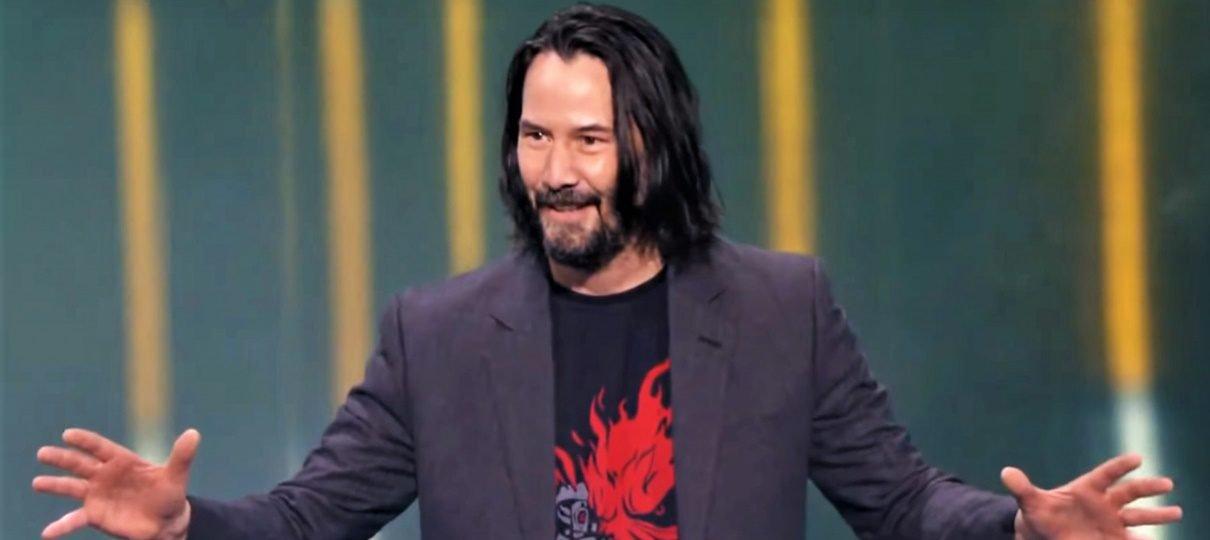 Keanu Reeves não era a primeira escolha do criador de Cyberpunk 2077