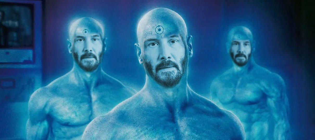 Watchmen   Keanu Reeves quase foi o Dr. Manhattan no filme