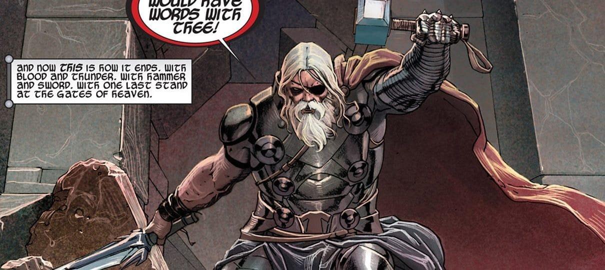 Thor vira rei de Asgard em nova HQ da Marvel