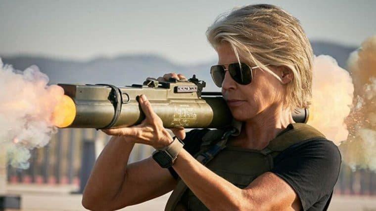 Linda Hamilton não aceitou de cara o papel em O Exterminador do Futuro: Destino Sombrio