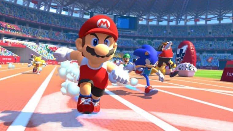 Mario & Sonic at the Olympic Games será lançado em novembro
