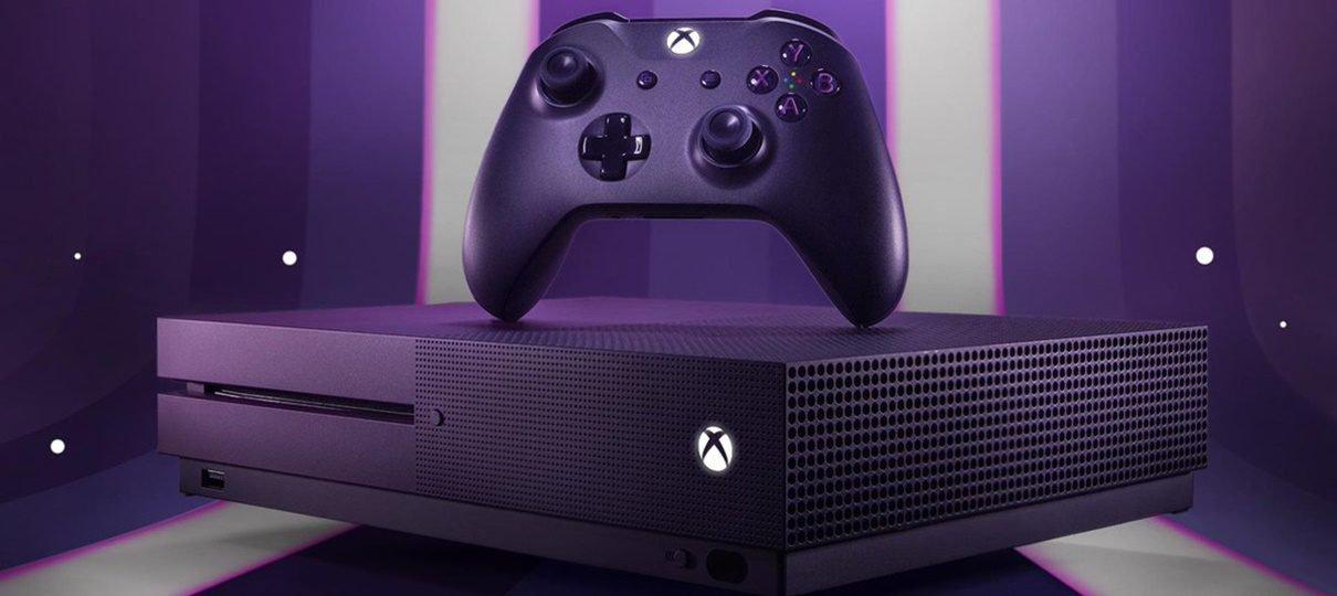 Microsoft anuncia edição do Xbox One S temática de Fortnite