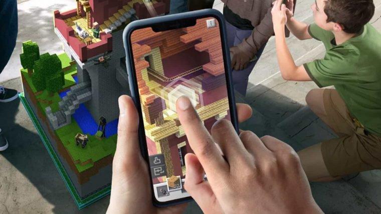 Minecraft Earth | Mojang demonstra como o jogo em realidade aumentada funcionará
