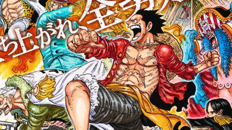 One Piece Stampede ganha novo pôster com personagens prontos para a batalha