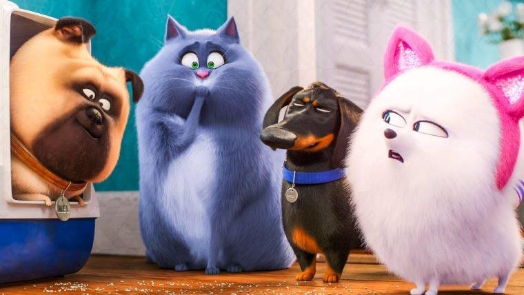 Pets: A Vida Secreta dos Bichos 2 lidera bilheteria, enquanto Aladdin e Godzilla despencam