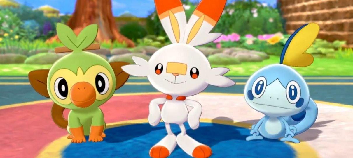 Pokémon Sword & Shield ganham data de lançamento