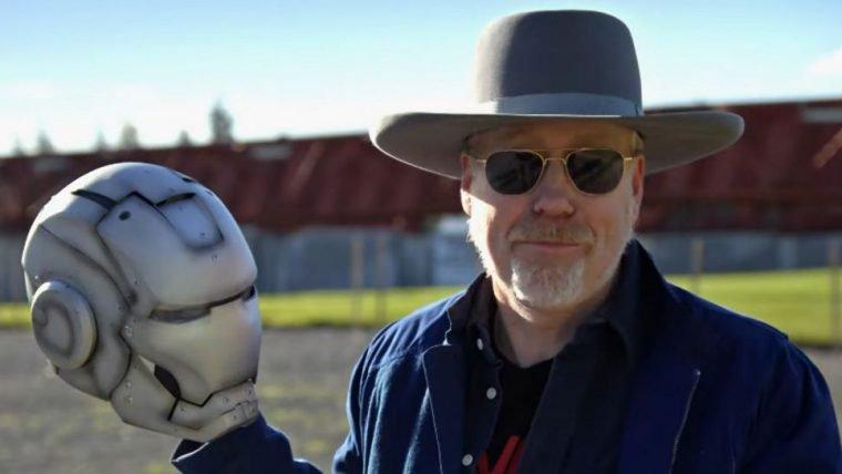 Adam Savage criou uma armadura do Homem de Ferro que voa de verdade