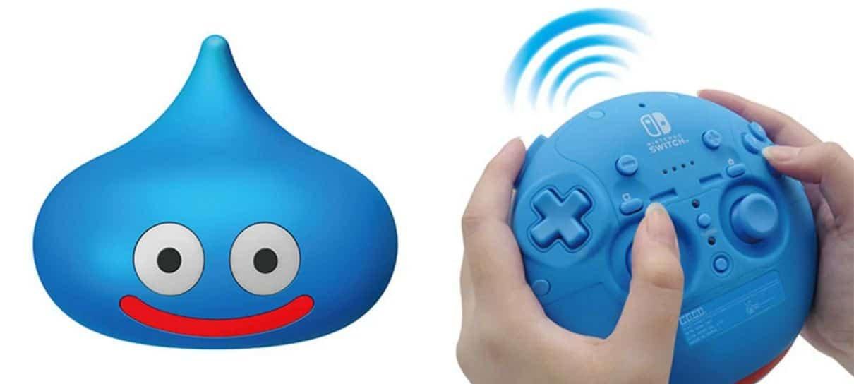 Esse Slime é um controle de Nintendo Switch