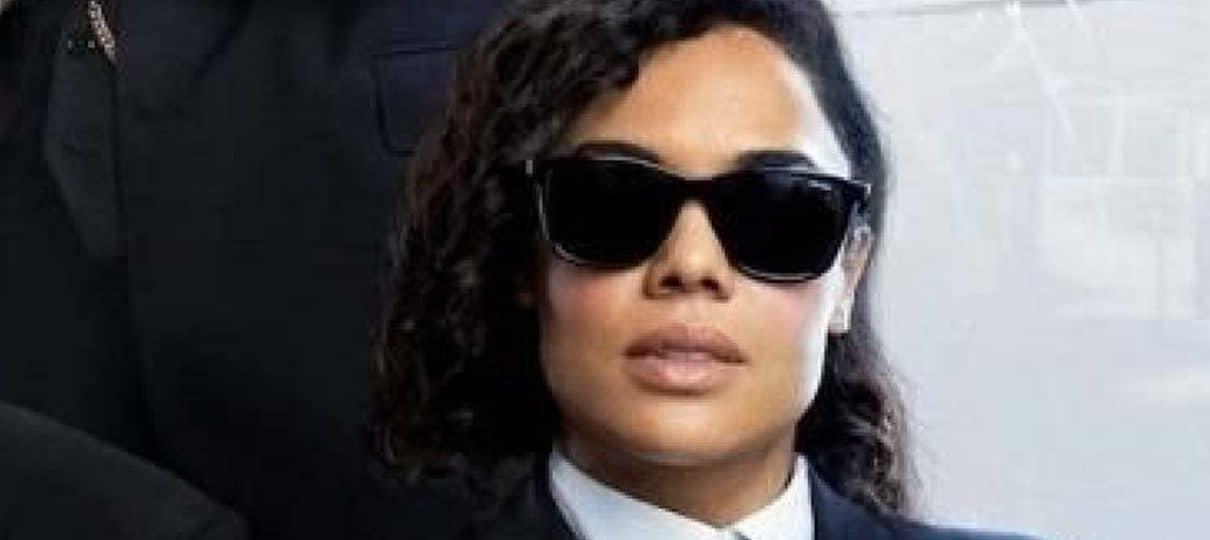 MIB: Internacional   Tessa Thompson acha que franquia deveria mudar de nome