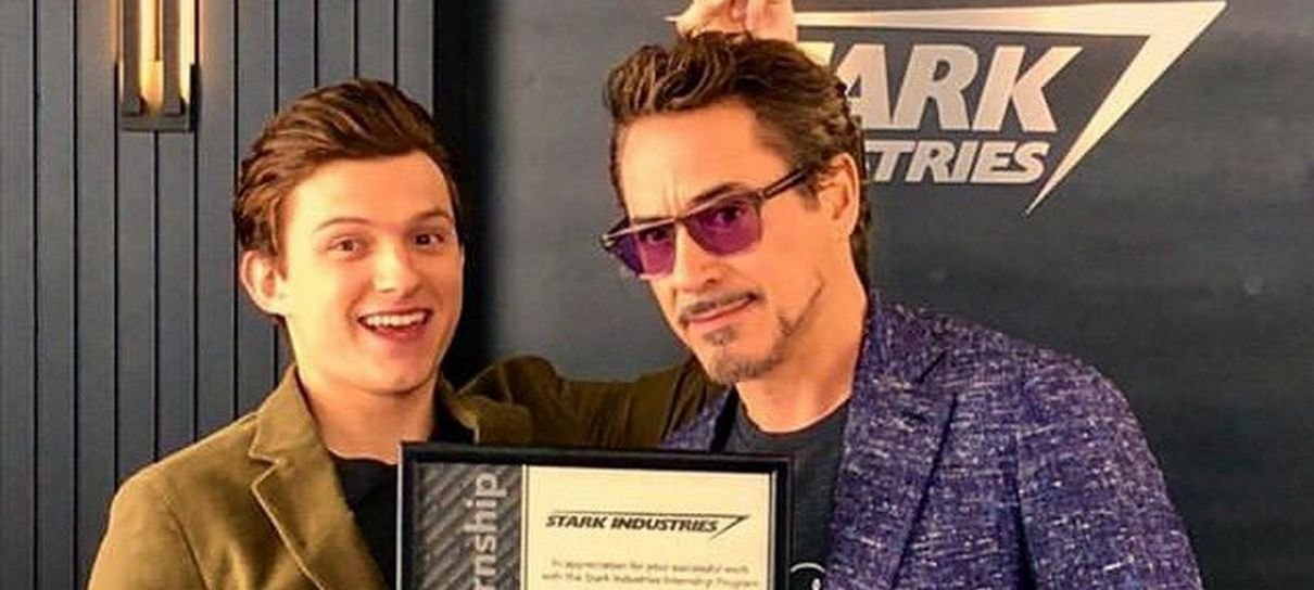 Robert Downey Jr. é um mentor para Tom Holland também longe das câmeras