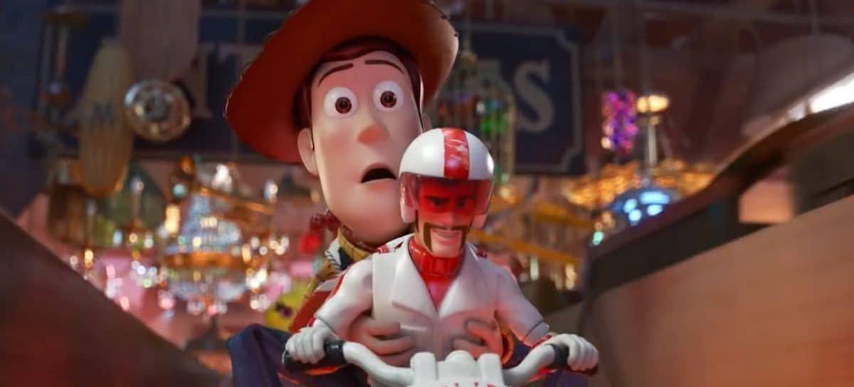 Toy Story 4 tem 100% de aprovação no Rotten Tomatoes