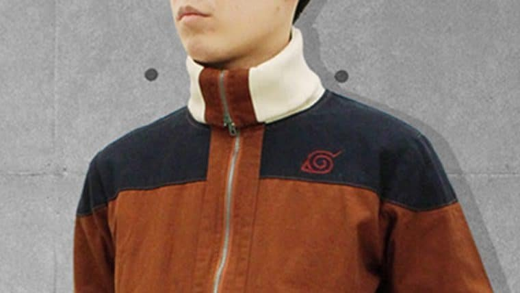 Vista todo o estilo ninja com essa jaqueta de Naruto