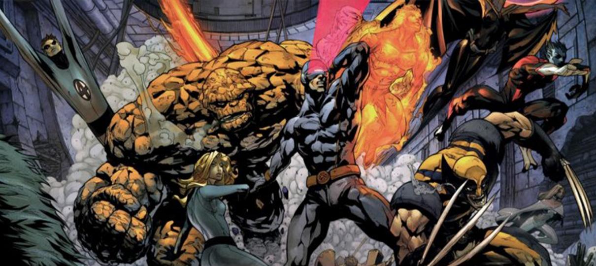 Crossover entre X-Men, Deadpool e Quarteto Fantástico poderia ter acontecido na Fox