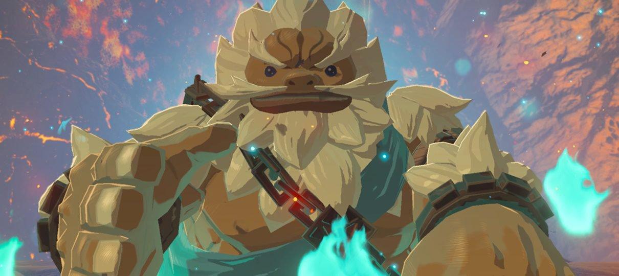 Zelda: Breath of the Wild terá sequência porque ainda existiam