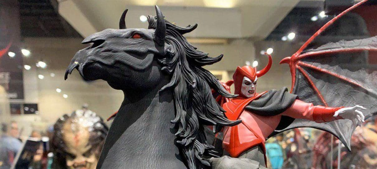 Caverna do Dragão | Iron Studios apresenta estatueta do Vingador na SDCC 2019
