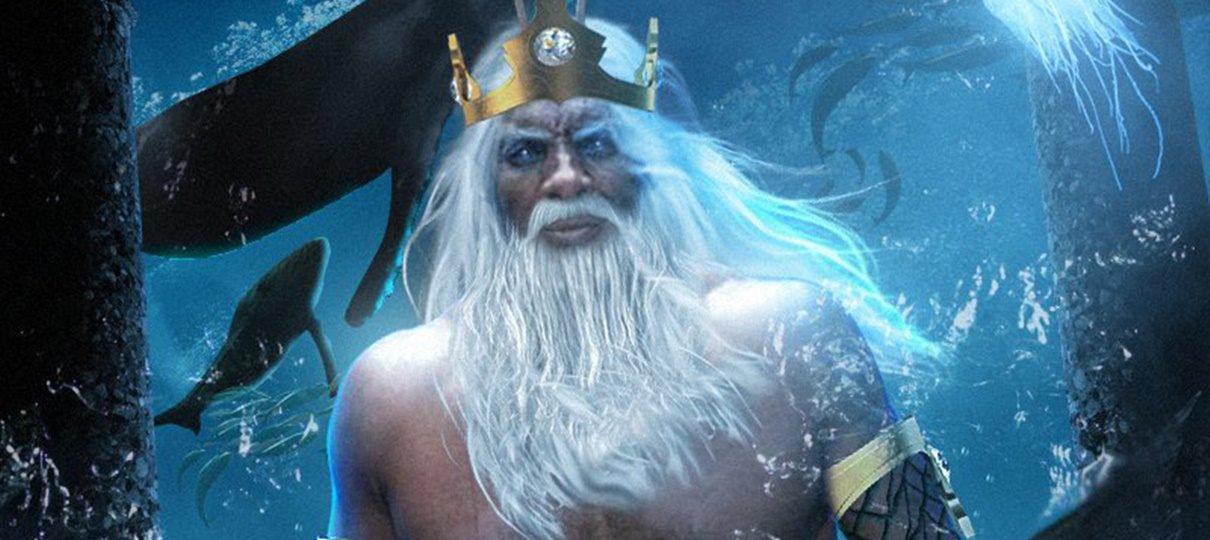 BossLogic imagina Idris Elba como o Rei Tritão de A Pequena Sereia
