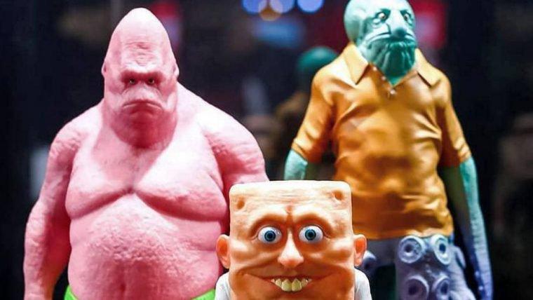 Bob Esponja vai ganhar figures realistas (e perturbadores)
