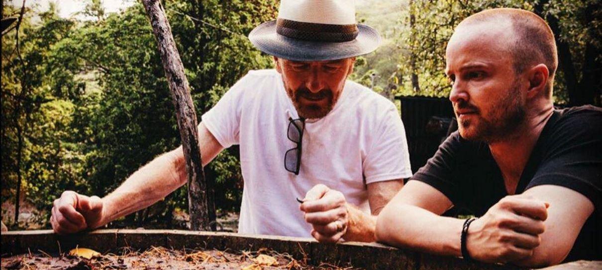 Bryan Cranston e Aaron Paul finalmente revelam projeto e não era o que esperávamos
