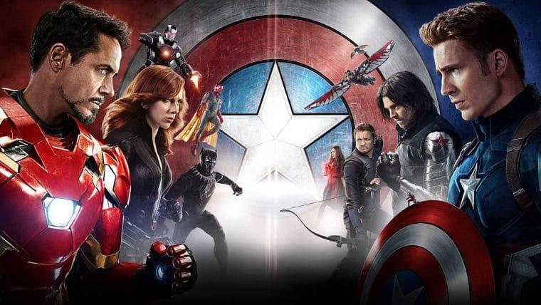 Capitão América: Guerra Civil chega na Netflix em Agosto