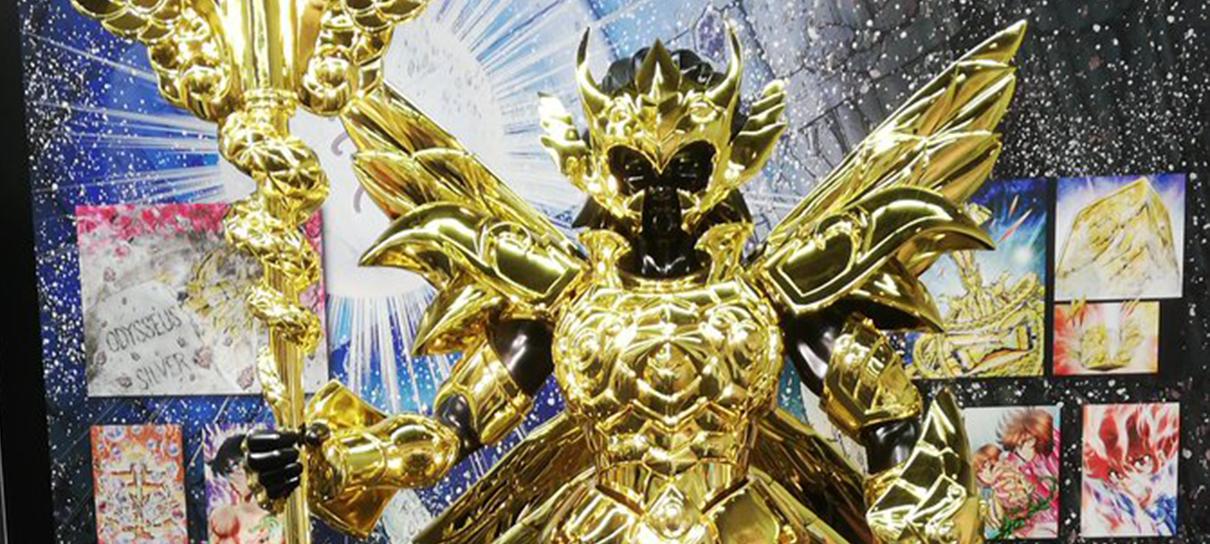Cavaleiros do Zodíaco | Armadura de Serpentário em tamanho real é revelada no Japão
