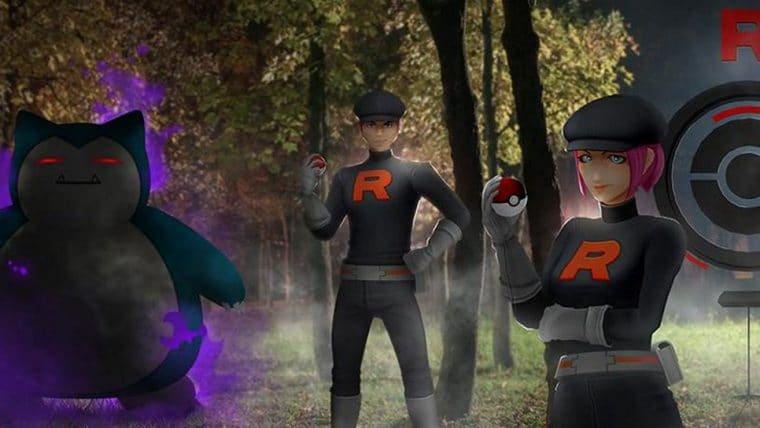 Equipe Rocket invadiu o Pokémon Go