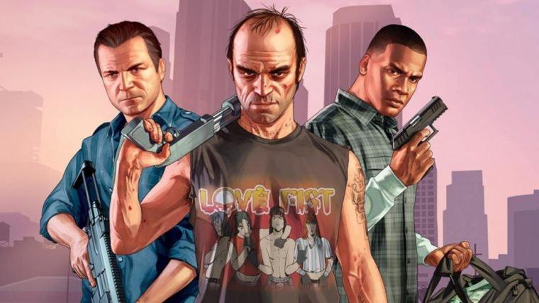 GTA V é o jogo mais vendido da atual geração nos EUA