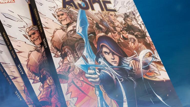 League of Legends | Versão física da HQ da Ashe está disponível no Brasil